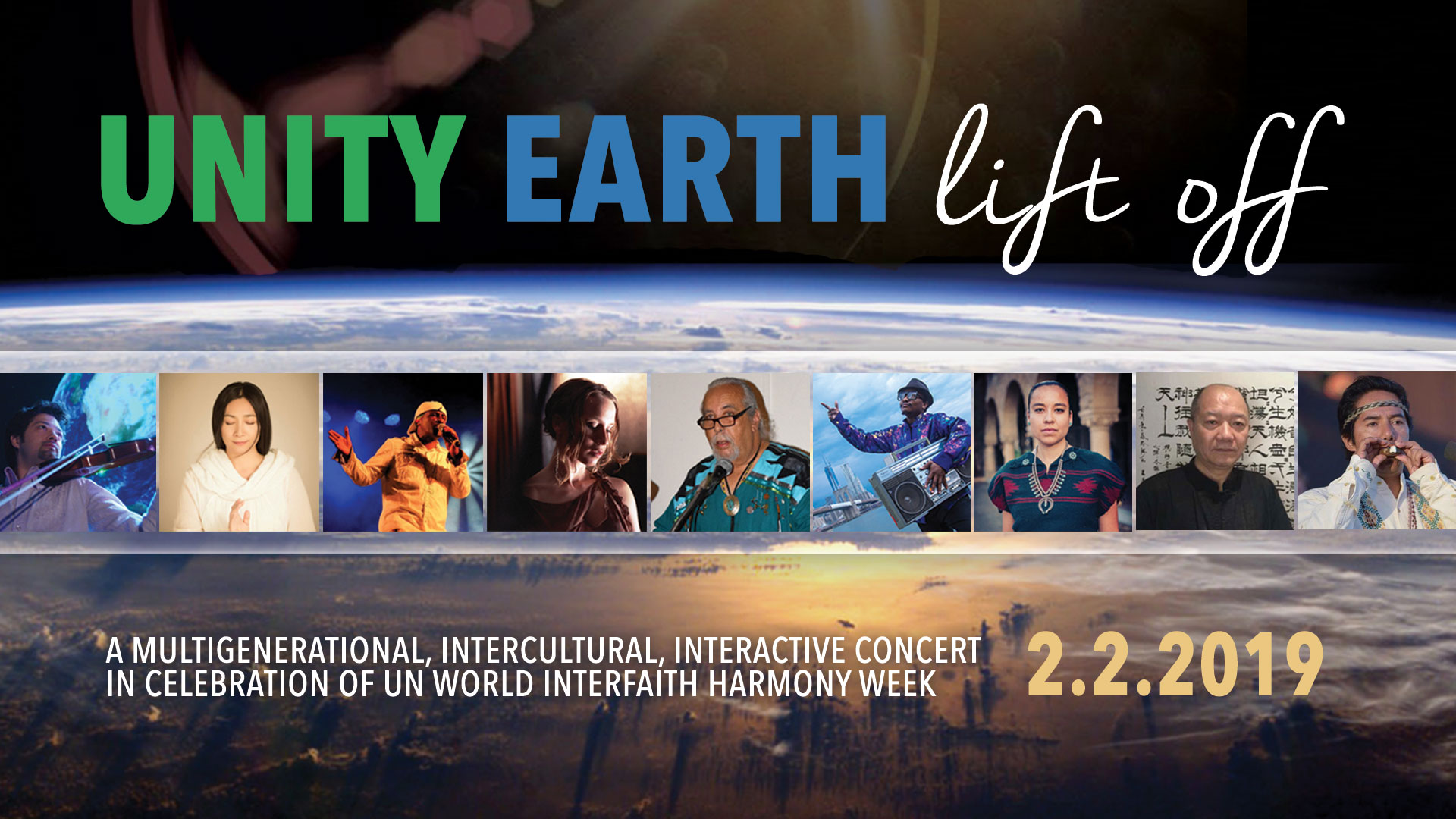 UNITY EARTH LIFT OFF NYC