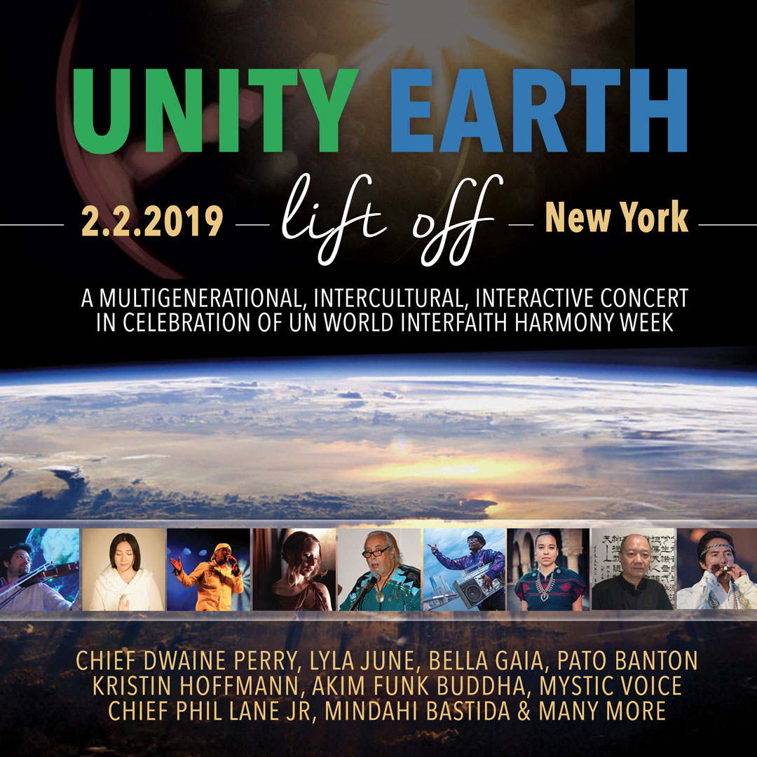 UNITY EARTH LIFT OFF NYC 2019