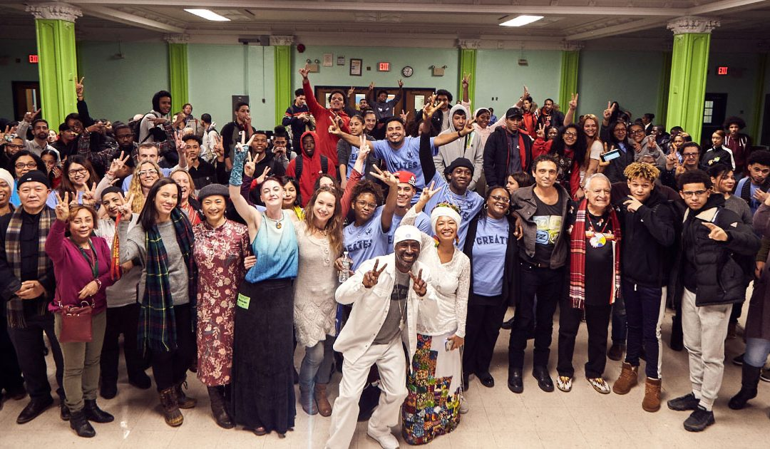 UNITY EARTH visits New York City High School
